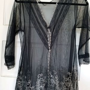 Nataya Elegant Embroidered Boho top .New